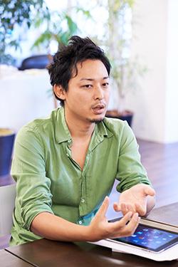 株式会社フォーデジットデザイン 代表取締役 田口 亮さん