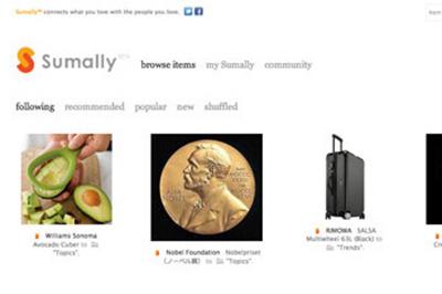 2011年9月にローンチした『sumally』http://sumally.com/
