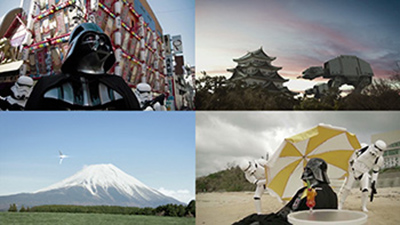 STAR WARS Viral Movie『ダース・ベイダー Attack on Japan』