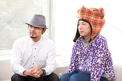 富永勇亮さん、Saqooshaさん