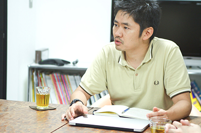 株式会社コンセントの代表、長谷川敦士さん。