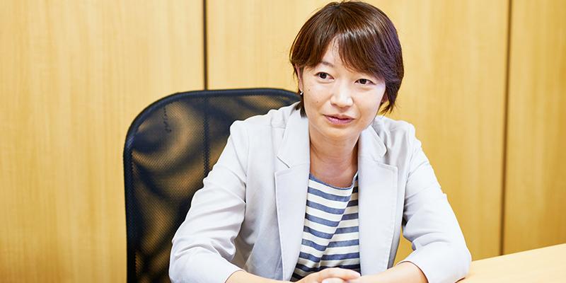 「ココロココ」編集長 奈良織恵さん