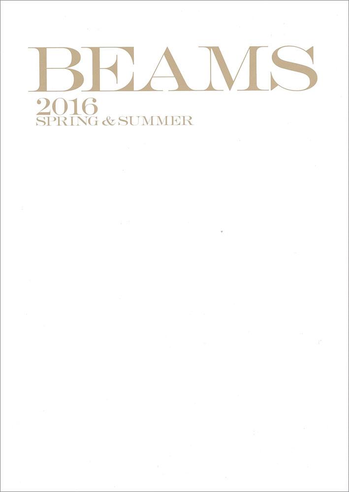 BEAMS 2016SS / カタログ