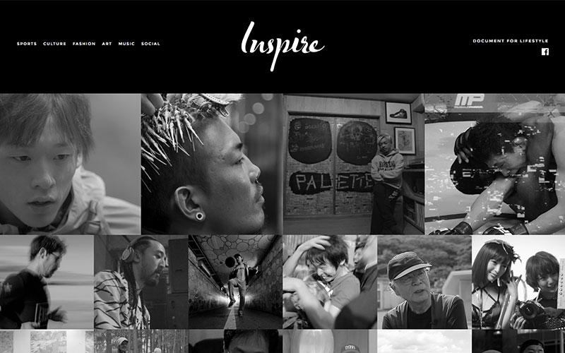 ドキュメンタリーサイト『inspire』