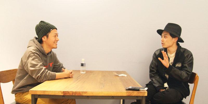 左:Huuuu・徳谷柿次郎さん 右:AbemaTV・恩納力さん