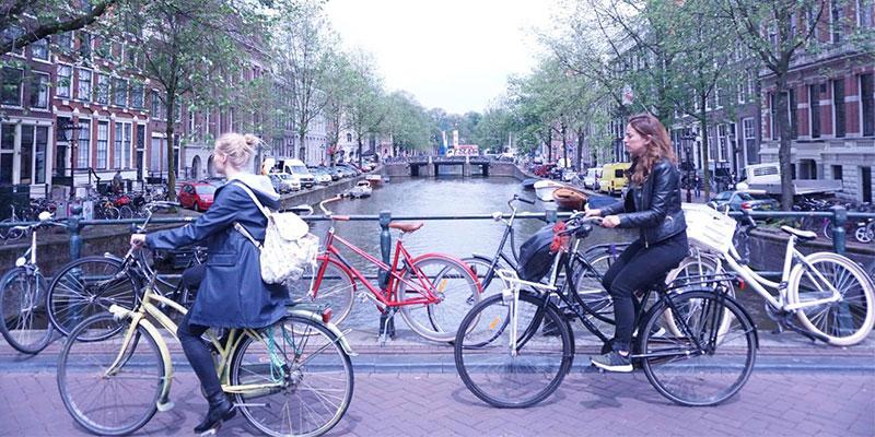 アムステルダムオフィス周辺の街並み