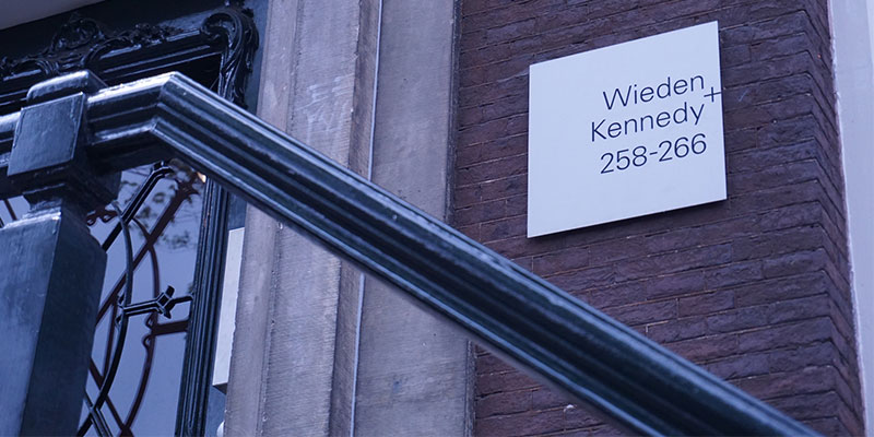 Wieden+Kennedy、アムステルダムオフィス
