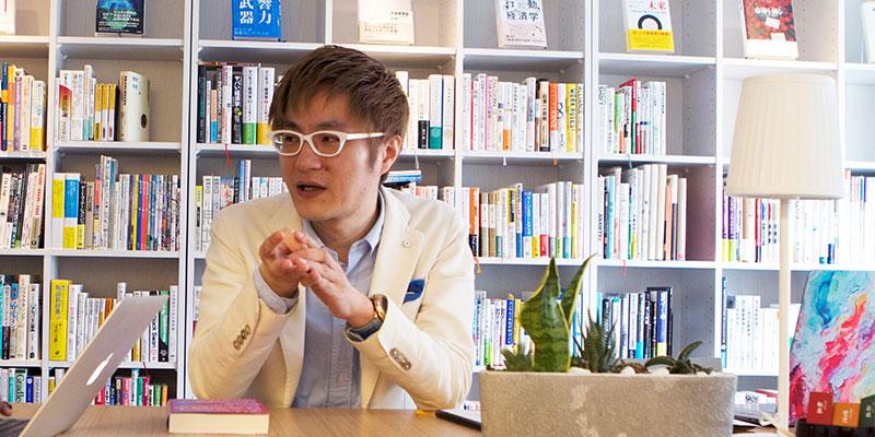 ゼロベース株式会社 代表取締役 石橋秀仁さん
