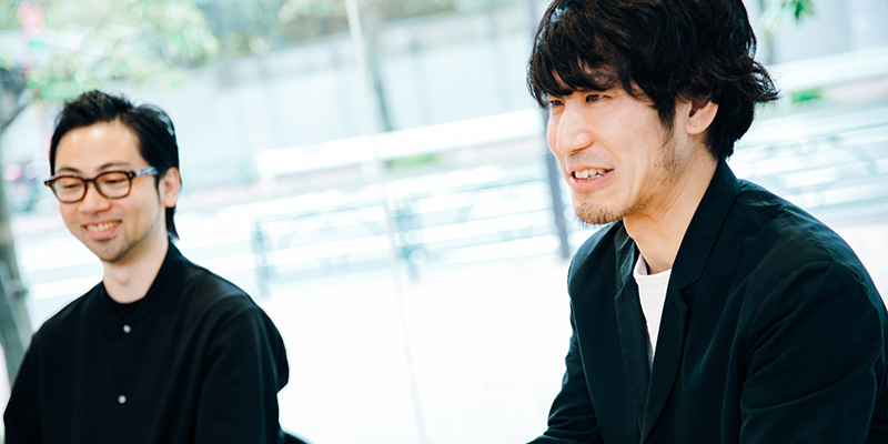 ソニーPCL株式会社 小塚悠介さん(左)、松田龍太さん(右)