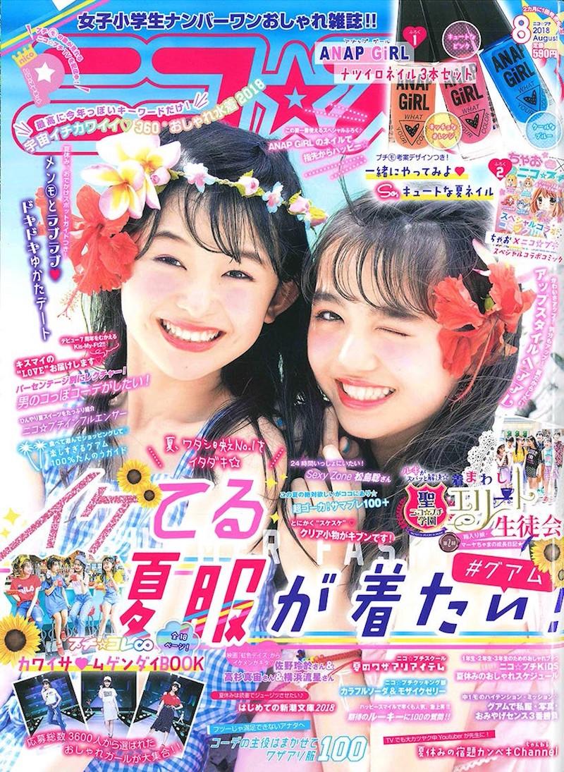 『ニコ☆プチ』表紙