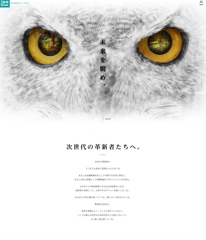 株式会社ニトリ / 採用サイト・採用パンフレット