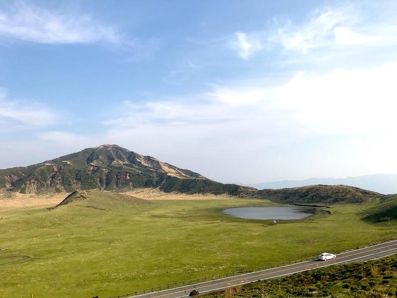 熊本県・阿蘇の景色