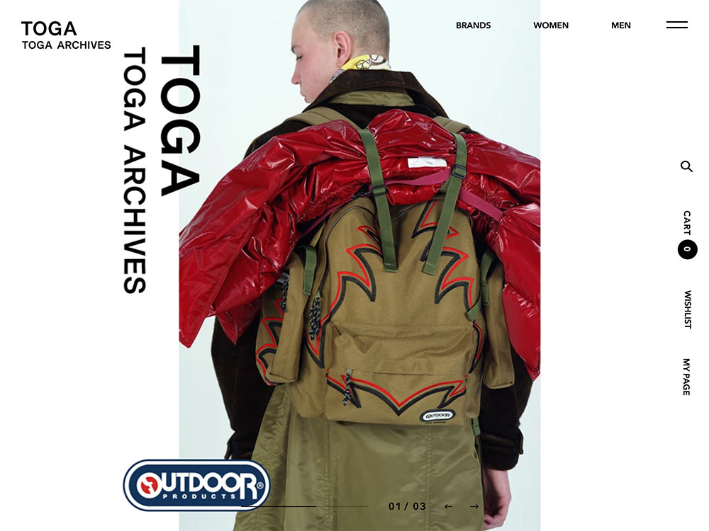 TOGA ONLINE STORE