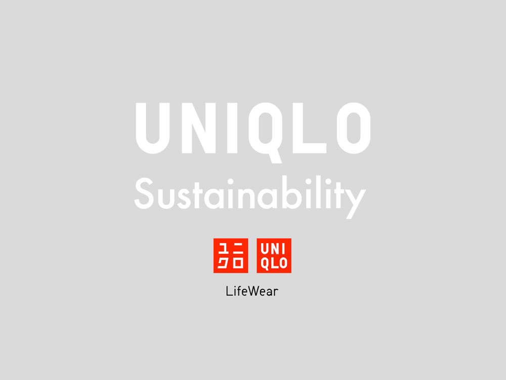 UNIQLO / UNIQLO Sustainability