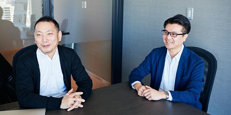 左から代表取締役の村田健さん、講師の武田真哉さん