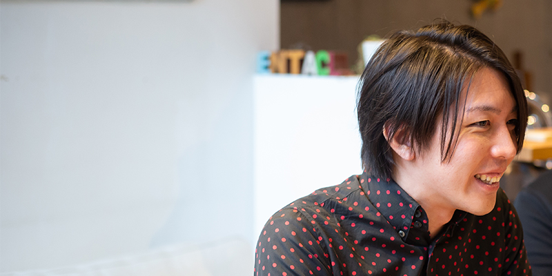 デザイナーの黒瀧崇さん