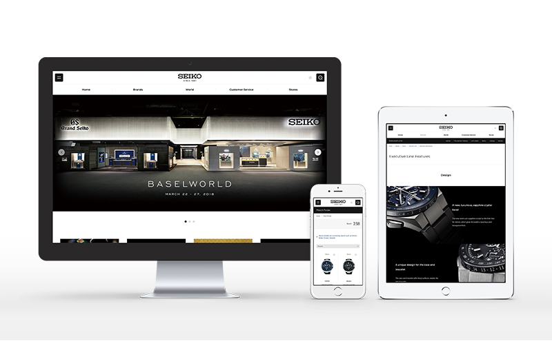 『Seiko Watch』グローバルブランドサイト