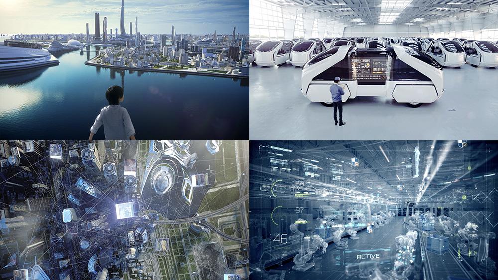 【映像】2030年の未来を描いたコンセプトムービー