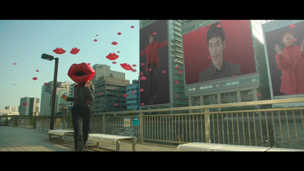 SingTuyo『kiss is my life』MV VFX