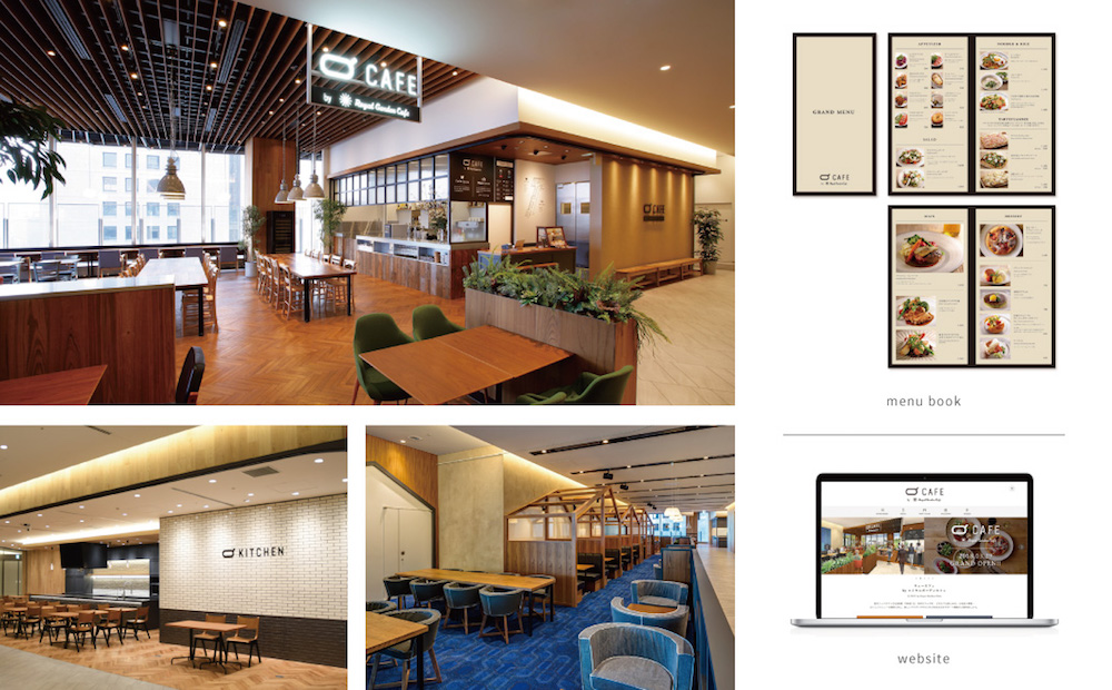 Q CAFE by Royal Garden Cafe / Q kitchen