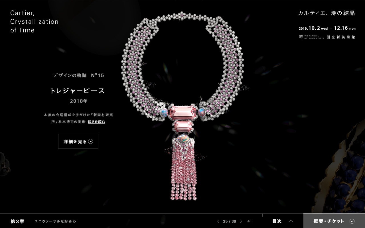 Cartier, Crystallization of Time