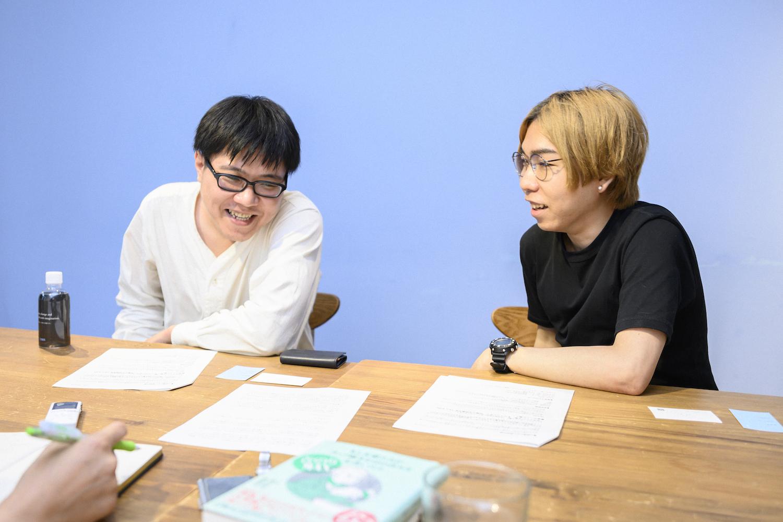 左から、神田桂一さん、菊池良さん