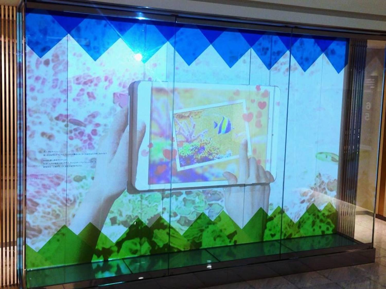 伊勢丹新宿店で展開された「ミュージアムキューブ」(画像提供:HERE.)