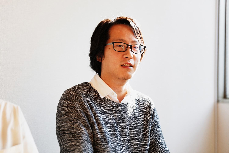 VFXスーパーバイザー / VFXデパートメントの呉岳さん。入社6年目